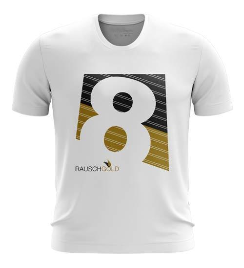 #190 Baumwoll T-Shirt Rauschgold